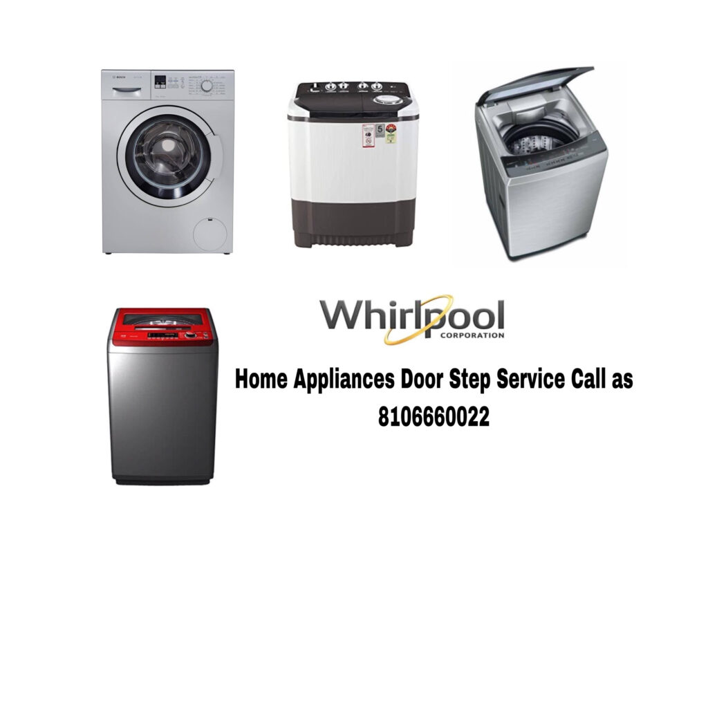 Whirlpool Washing Machine Service Center in Panjagutta