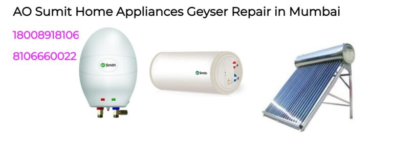 geyser repair and service in Mumbai